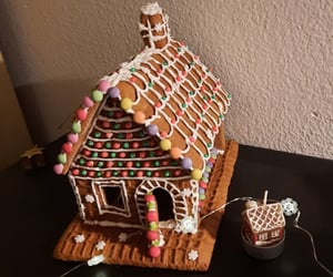 christmas, decoration, and gingerbread image