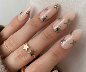 nails, fashion, and stars image