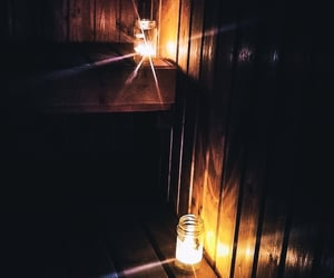 dark, candle, and candles image