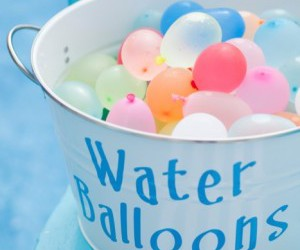 balloons, water balloons, and blue image
