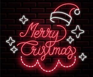 light and merry christmas image