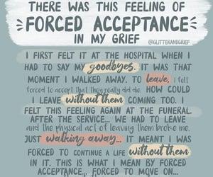 grief, loss, and sad image