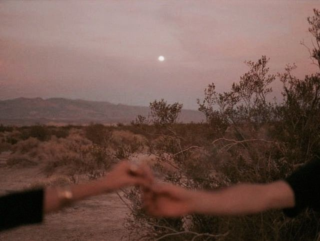 Image de archive, sunset, and hands
