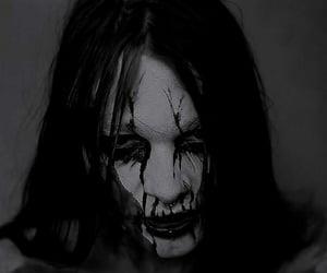 Black Metal, corpse paint, and dark image