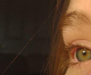 blonde, eyes, and eyelashes image