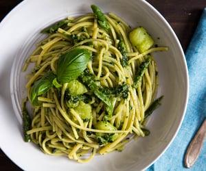 green beans, pasta, and potato image
