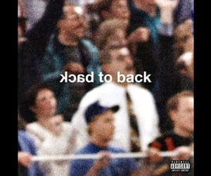 back, beef, and drizzy image