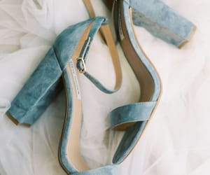 light blue, heels, and shoes image