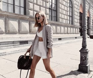 fashion, city, and outfit image
