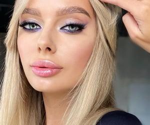 beautiful, blonde, and eyes image