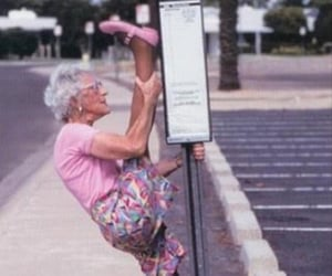 flexibility, Forever Young, and grandma image
