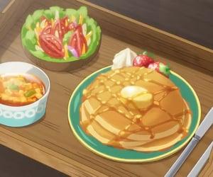 anime, anime food, and anime aesthetic image