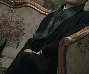 slytherin, dark academia, and aesthetic image