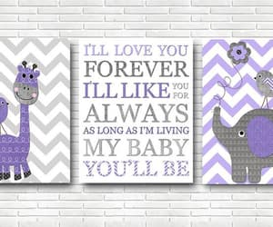 etsy, canvas art, and kids wall art image