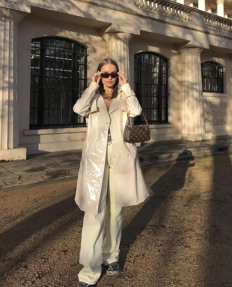 street style, trench coat, and everyday look image