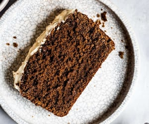Gluten-Free Gingerbread Molasses Cake with Eggnog Frosting