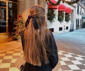 brunette, christmas, and elegant image