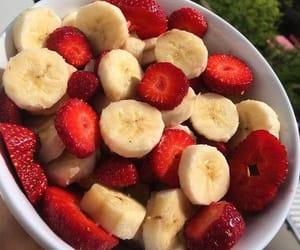 banana, breakfast, and healthy image