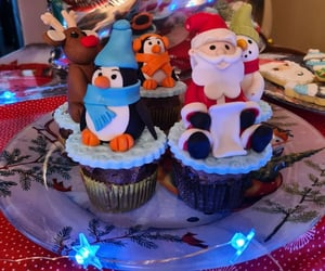 christmas, Cookies, and muffins image