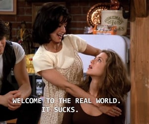 friends, 90s, and quotes image