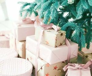 christmas, gifts, and tree image