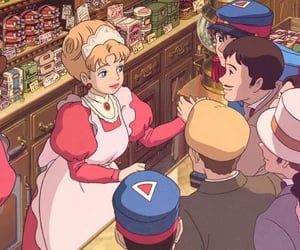 animation, ghibli, and howl's moving castle image