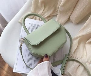bag, green, and aesthetic image