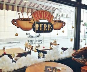 cafe, photography, and christmas image