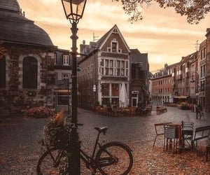 autumn colors, fall colors, and streets image