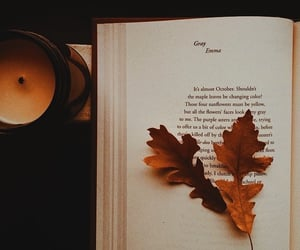 autumn colors, candle, and candles image