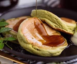 breakfast, dessert, and green tea image