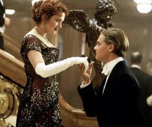 titanic, rose, and jack image