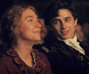 Saoirse Ronan, jo march, and timothee chalamet image