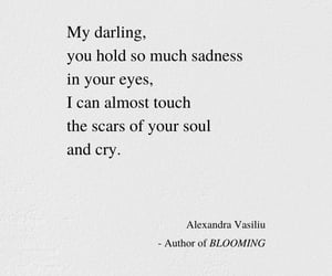 quotes, sadness, and scars image