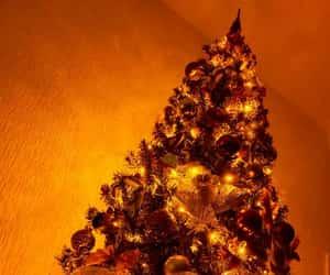 lights, merrychristmas, and christmastree image
