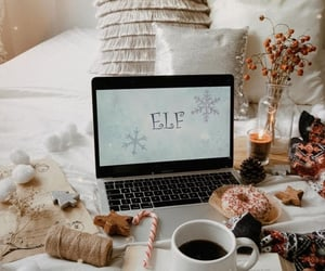 christmas, cozy, and elf image