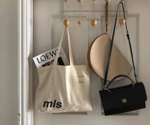 aesthetic, beige, and bag image