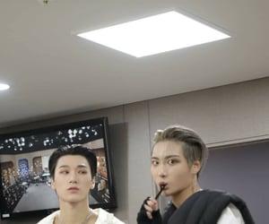 san, seonghwa, and ateez image