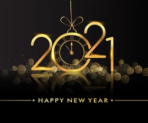 celebration, fireworks, and new year image