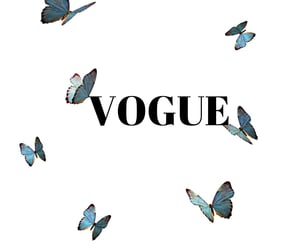 aesthetic, butterfly, and vogue image