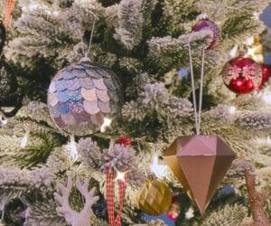 christmas, decor, and tree image