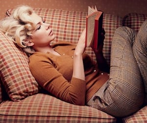 book, marylin, and candid image