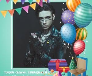 birthday, youtube, and andy sixx image