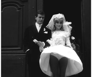 love, bride, and wedding image