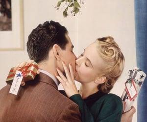 christmas, couple, and Relationship image
