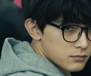 actor, glasses, and japanese image