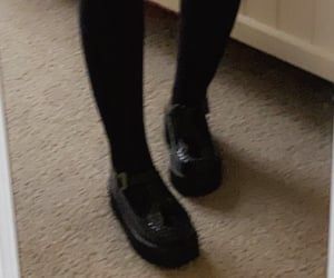 aesthetic, knee socks, and shoes image