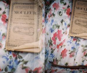 floral and vintage image