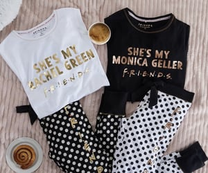 monica geller, pyjamas, and primark image