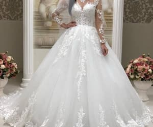 vestido de novia, cheap wedding dresses, and wedding ball gown image